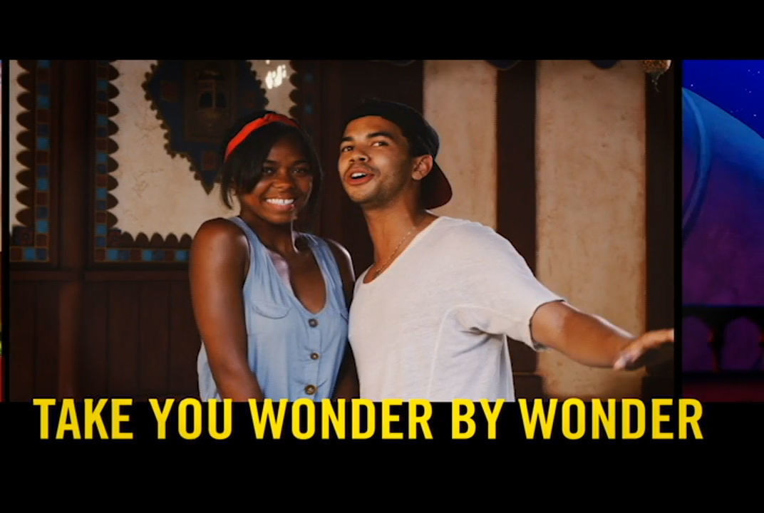 """Disneyland Guests Lip Sync to """"A Whole New World"""" from Aladdin   Disney Lip Sync"""