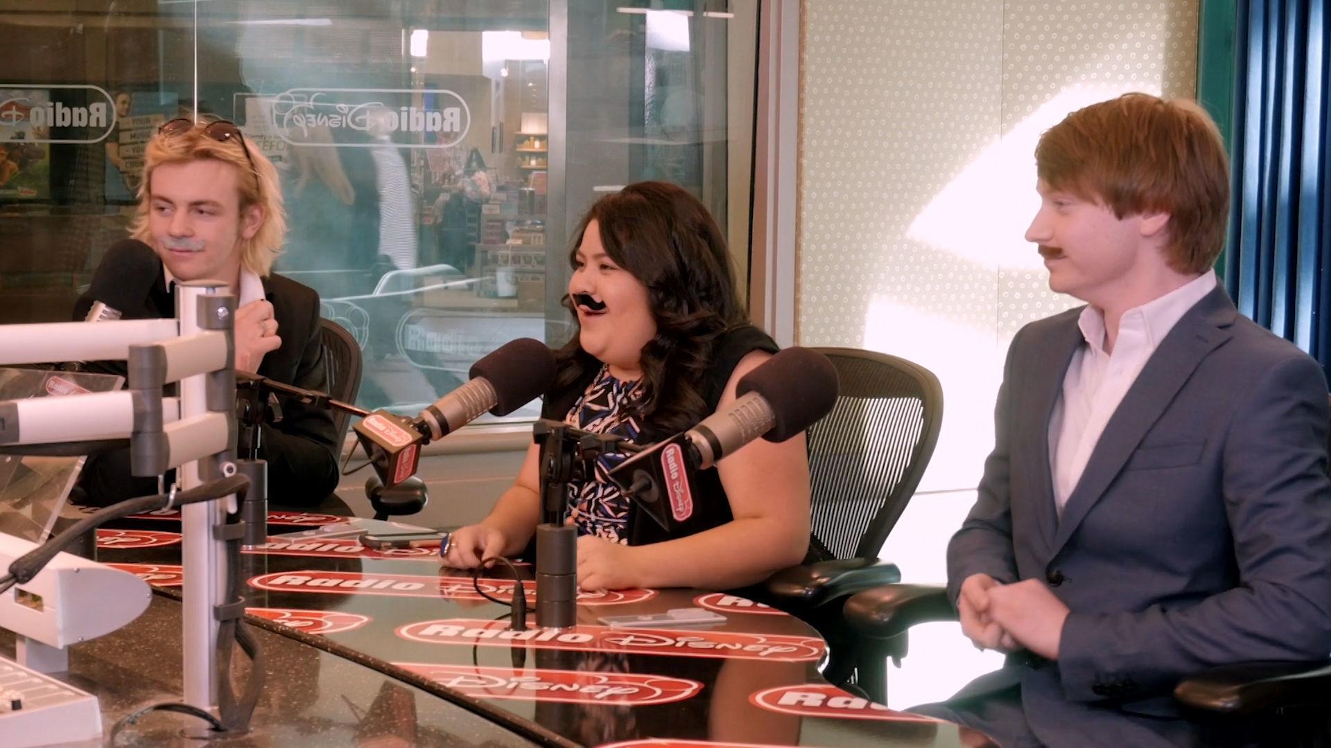 Laura Marano Interviews Her Austin & Ally Castmates