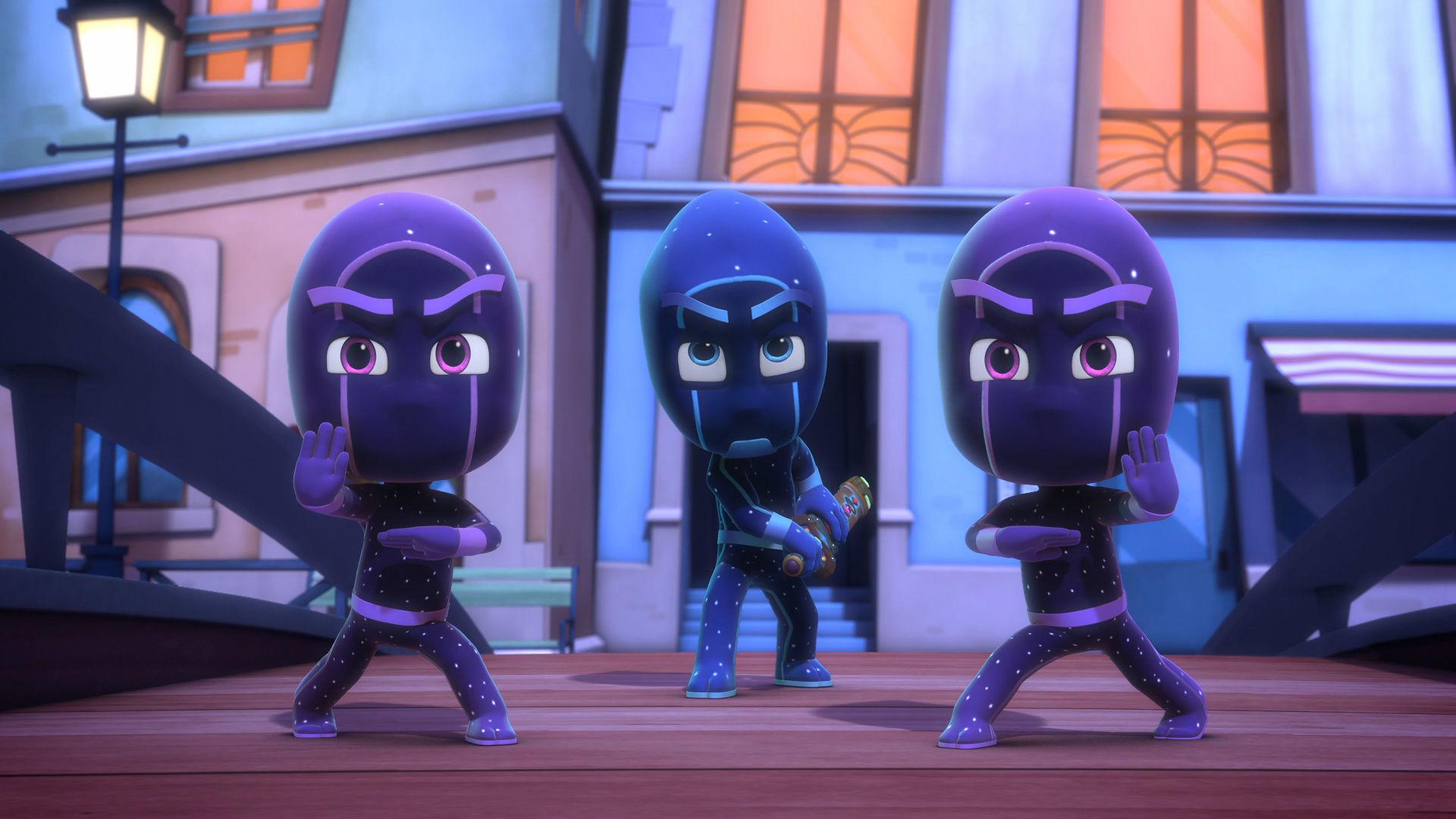 Speak Up Gekko / Catboy and Master Fang's Stolen Sword