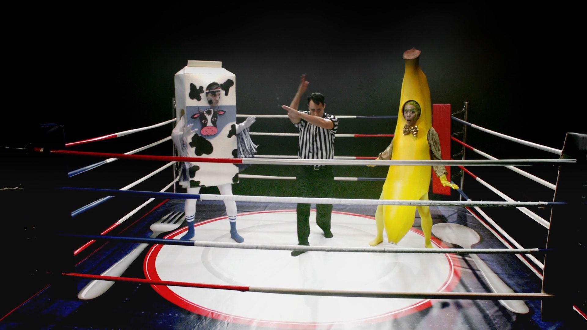Banana vs Low-Fat Milk