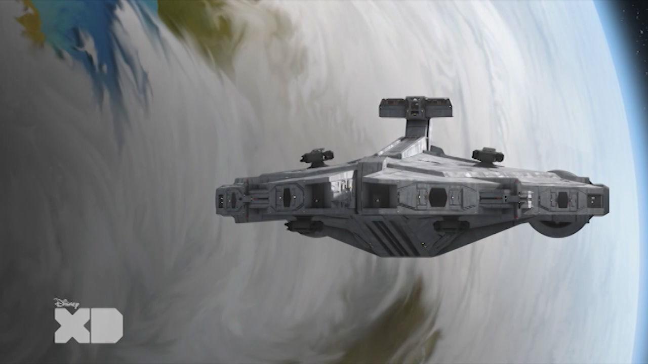 Star Wars Rebels S2 - la delegazione di Alderaan