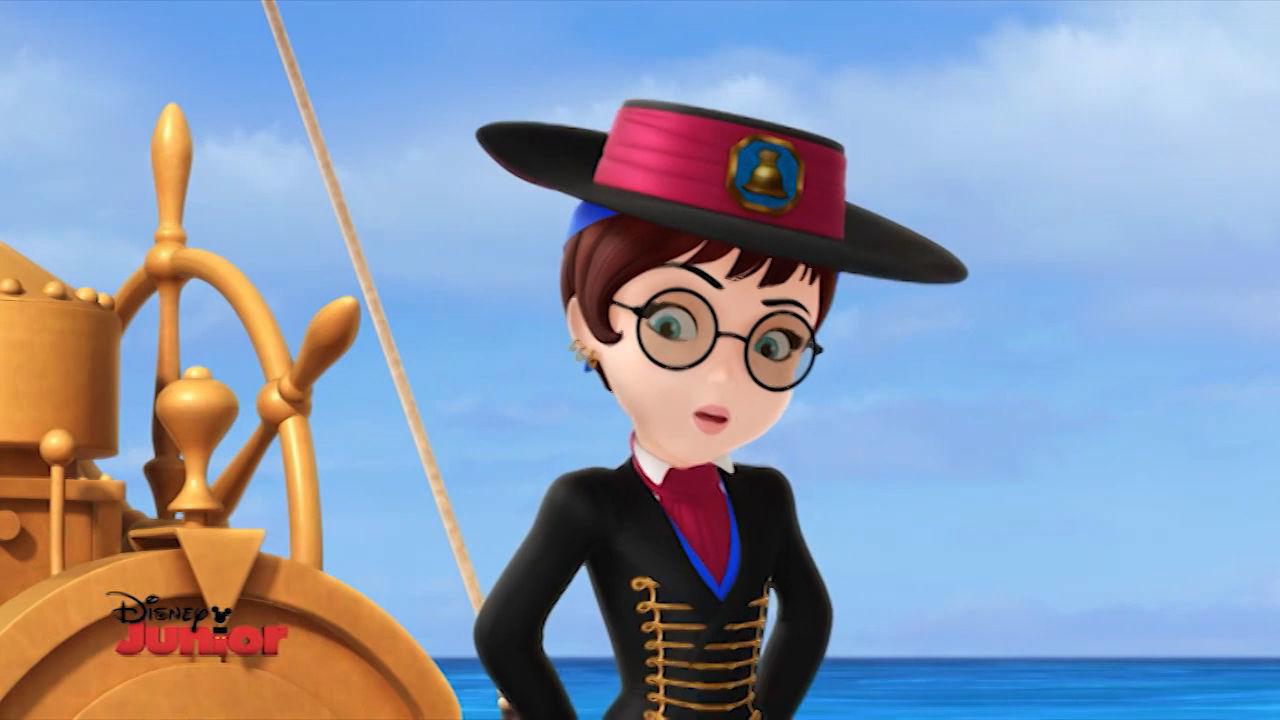 Sofia la Principessa - Sulla nave