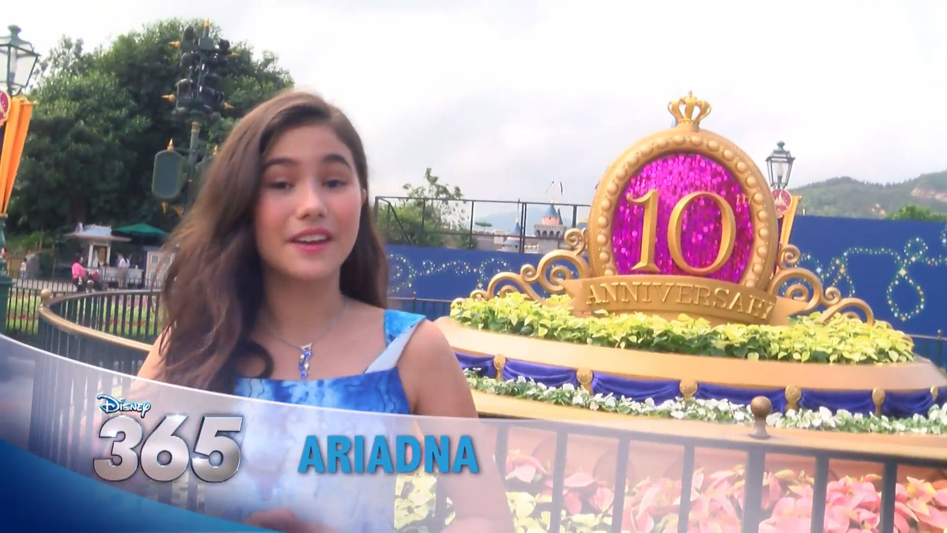 Disney 365 - Hong Kong Disneyland 10th Anniversary Celebration with Ariadna