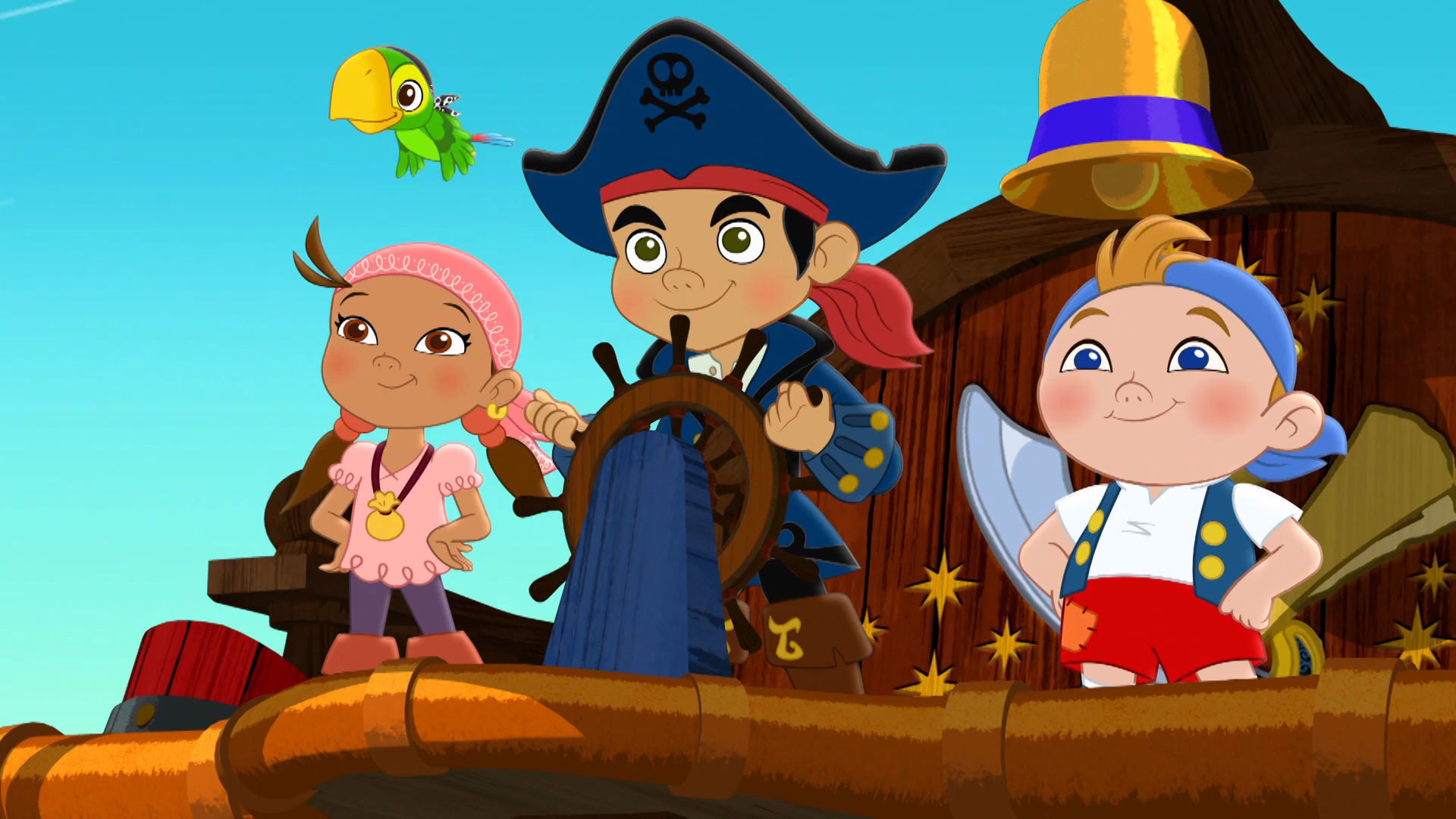 Captain Jake and the Never Land Pirates - There's a new captain on deck!