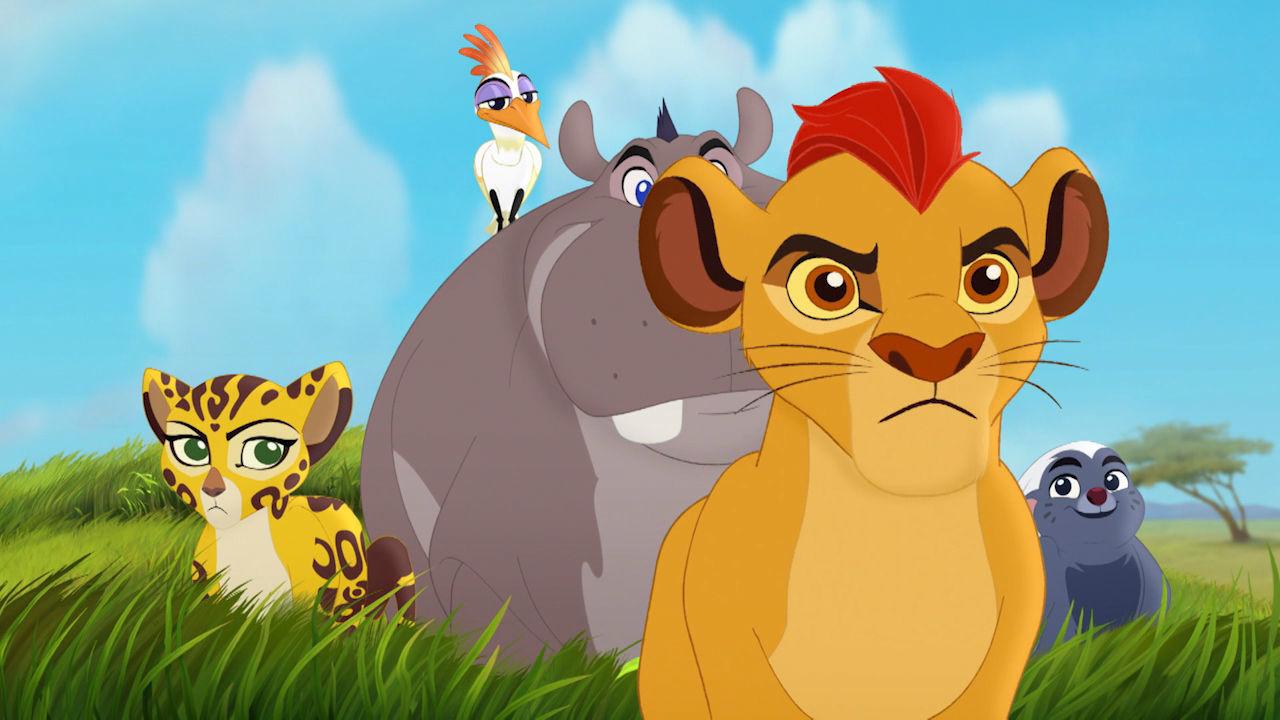 Løvernes garde bliver til