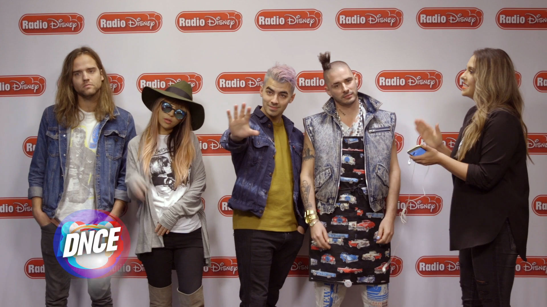 DNCE Lip Sync Challenge | Radio Disney Music Awards | Radio Disney