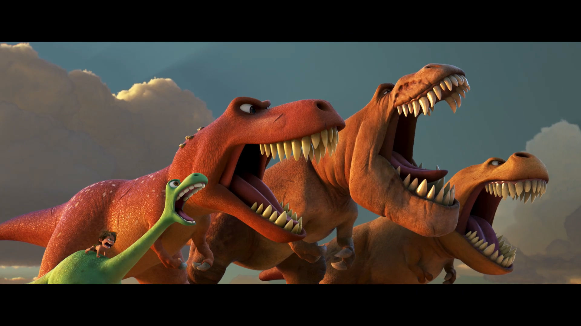 The Good Dinosaur Home Entertainment