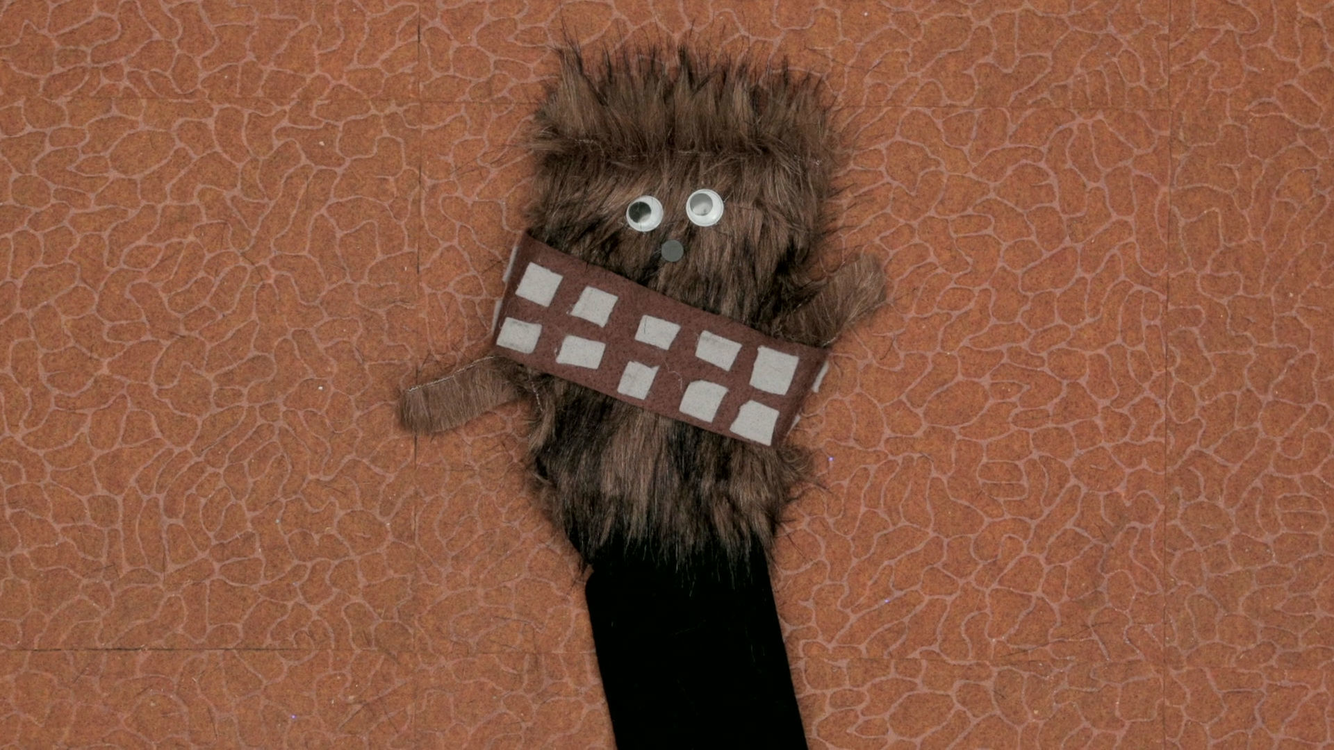 Chewbacca Sock Puppet | Disney DIY