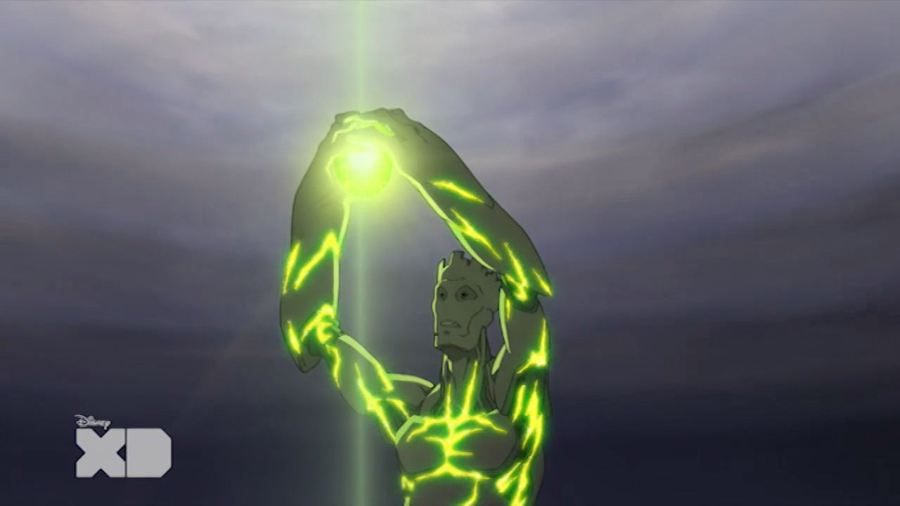 Guardiani della Galassia -  La trasformazione di Groot
