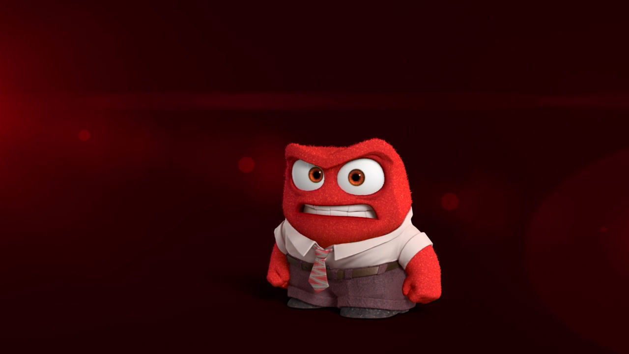 Inside Out Thought Bubbles - Anger