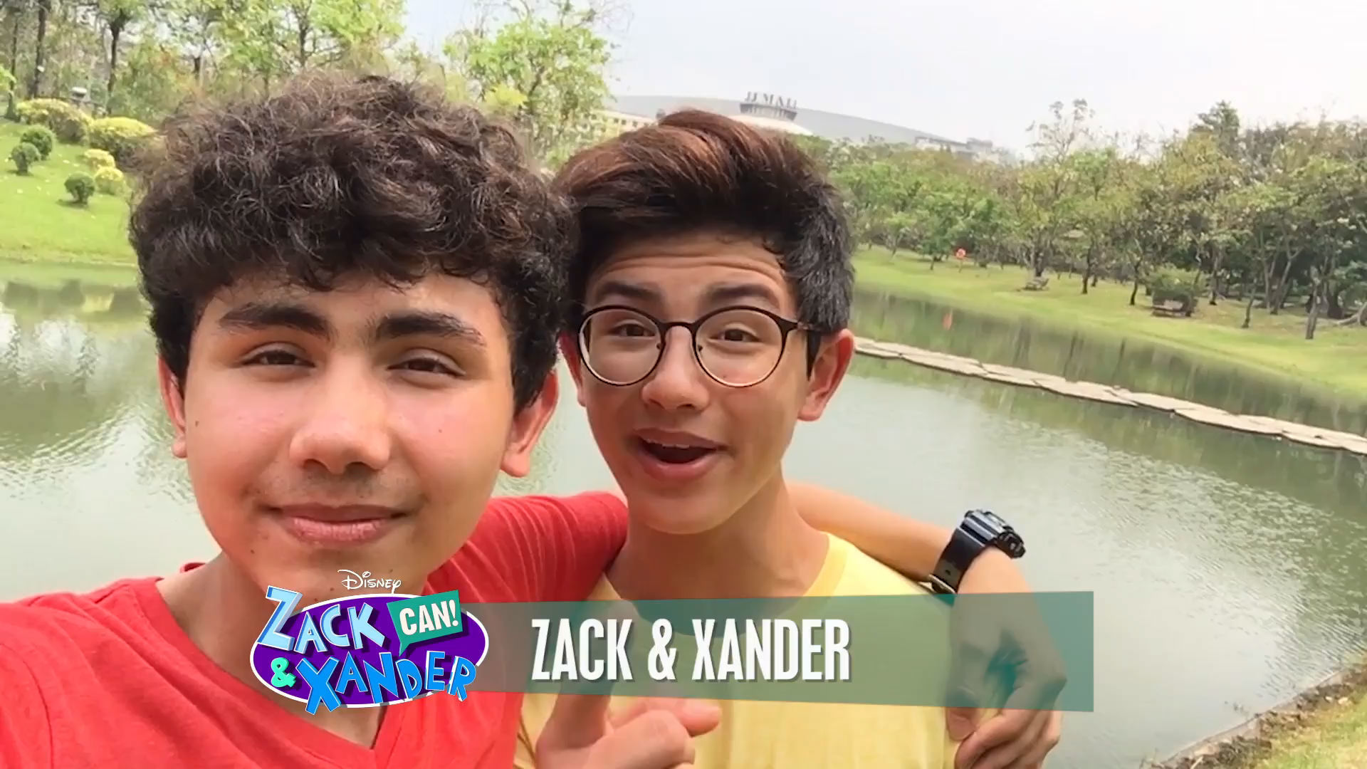 Zack & Xander Greeting 1 | Zack & Xander CAN! Web Series