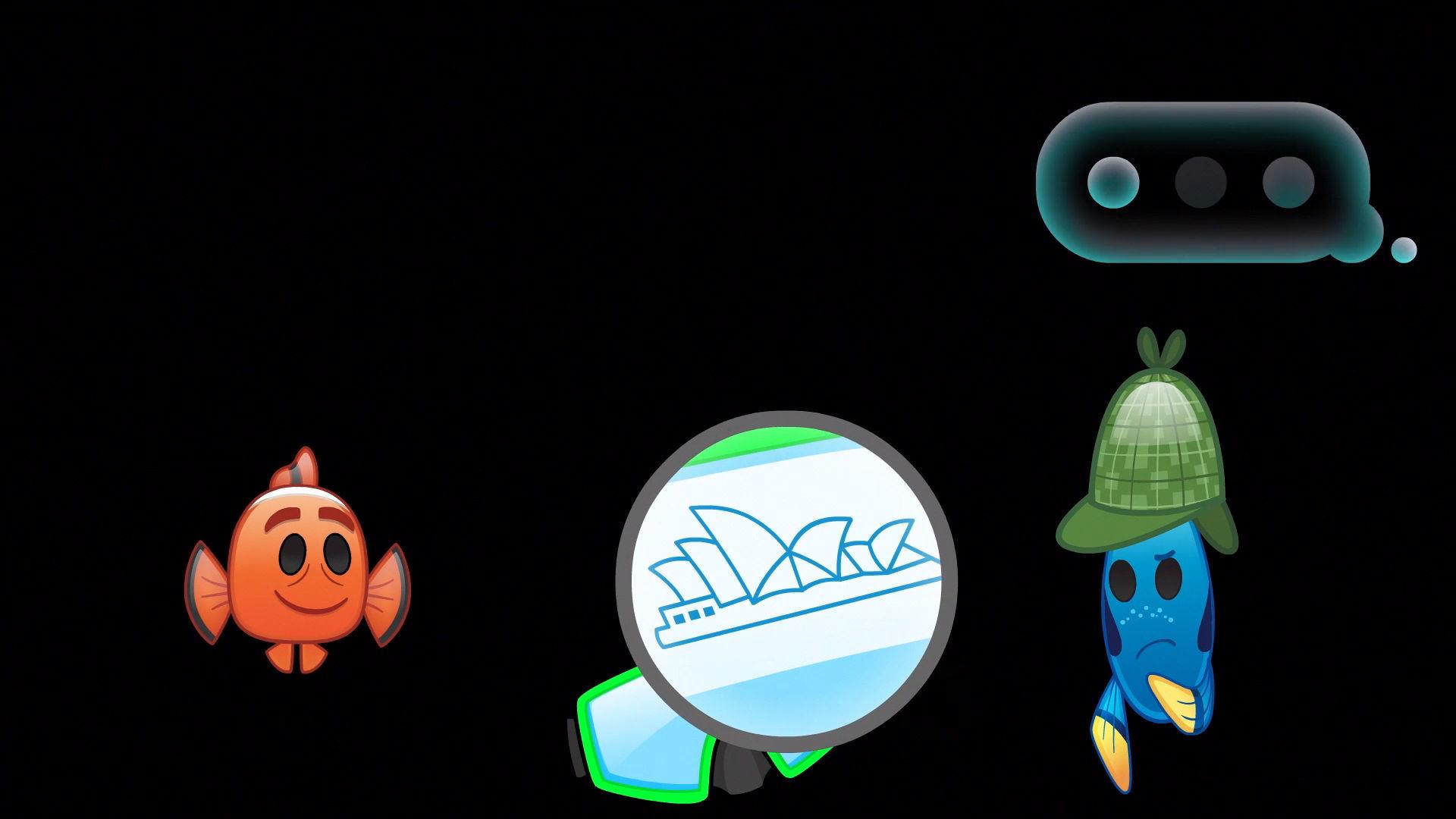 Kayıp Balık Nemo Emoji'nin Anlatımıyla