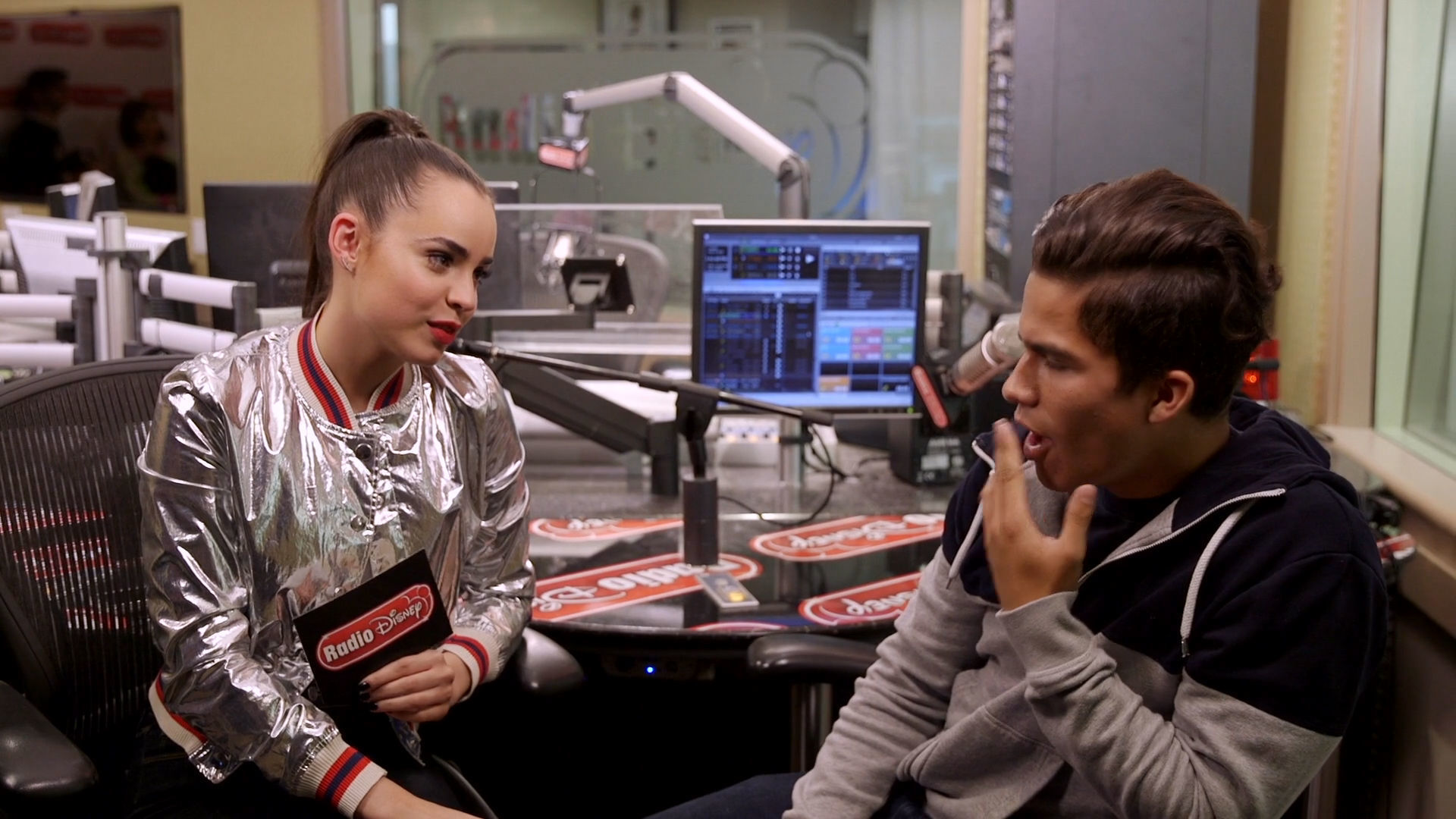 Sofia Carson and Alex Aiono - Spanish Songs Challenge | Radio Disney