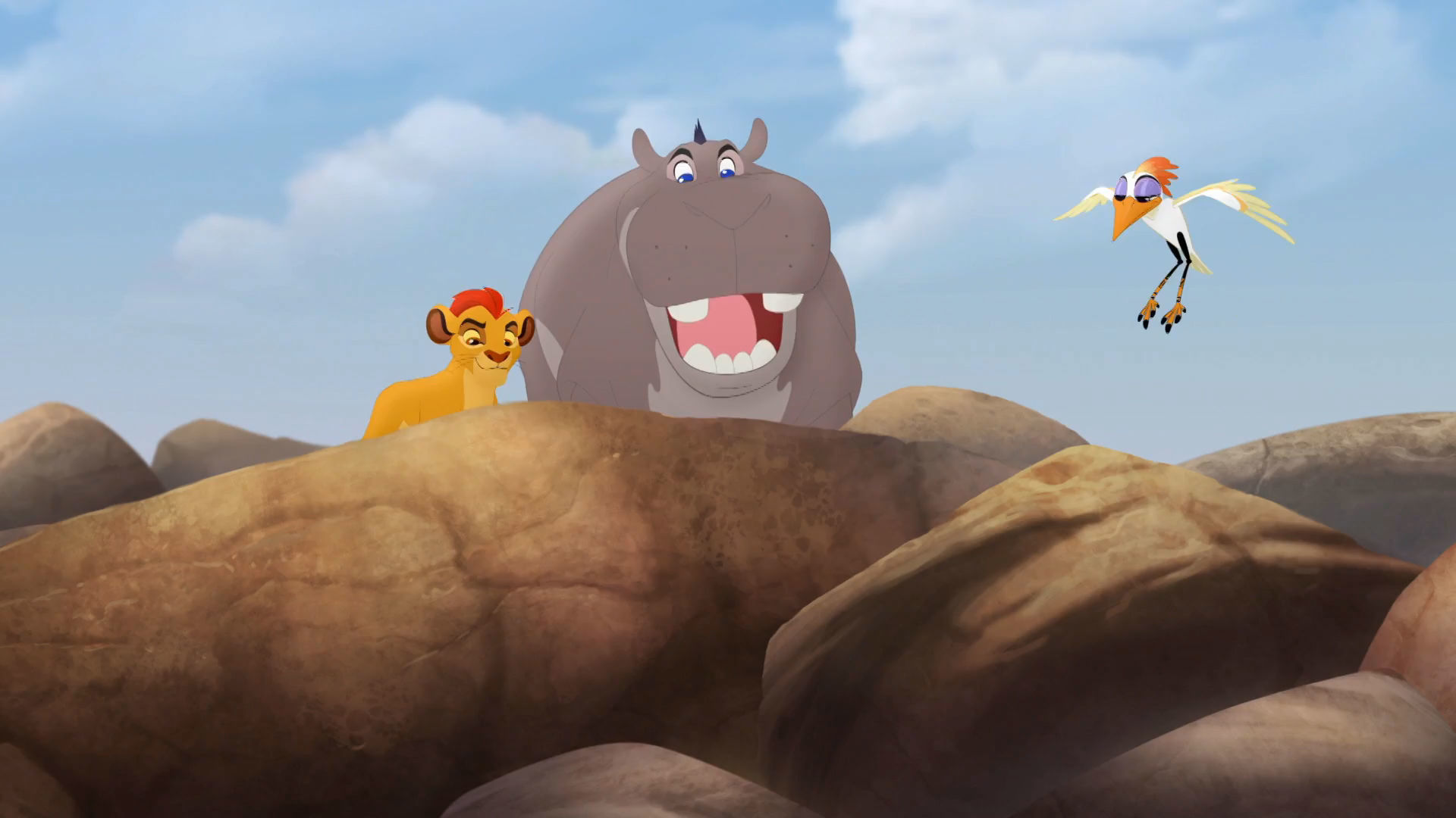 The Lion Guard - Beshte and Ono