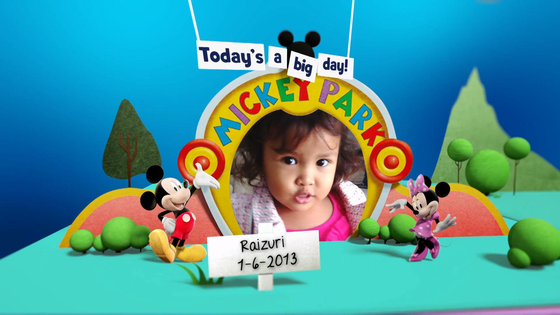 Disney Junior Birthday Book June 2016 Album 4
