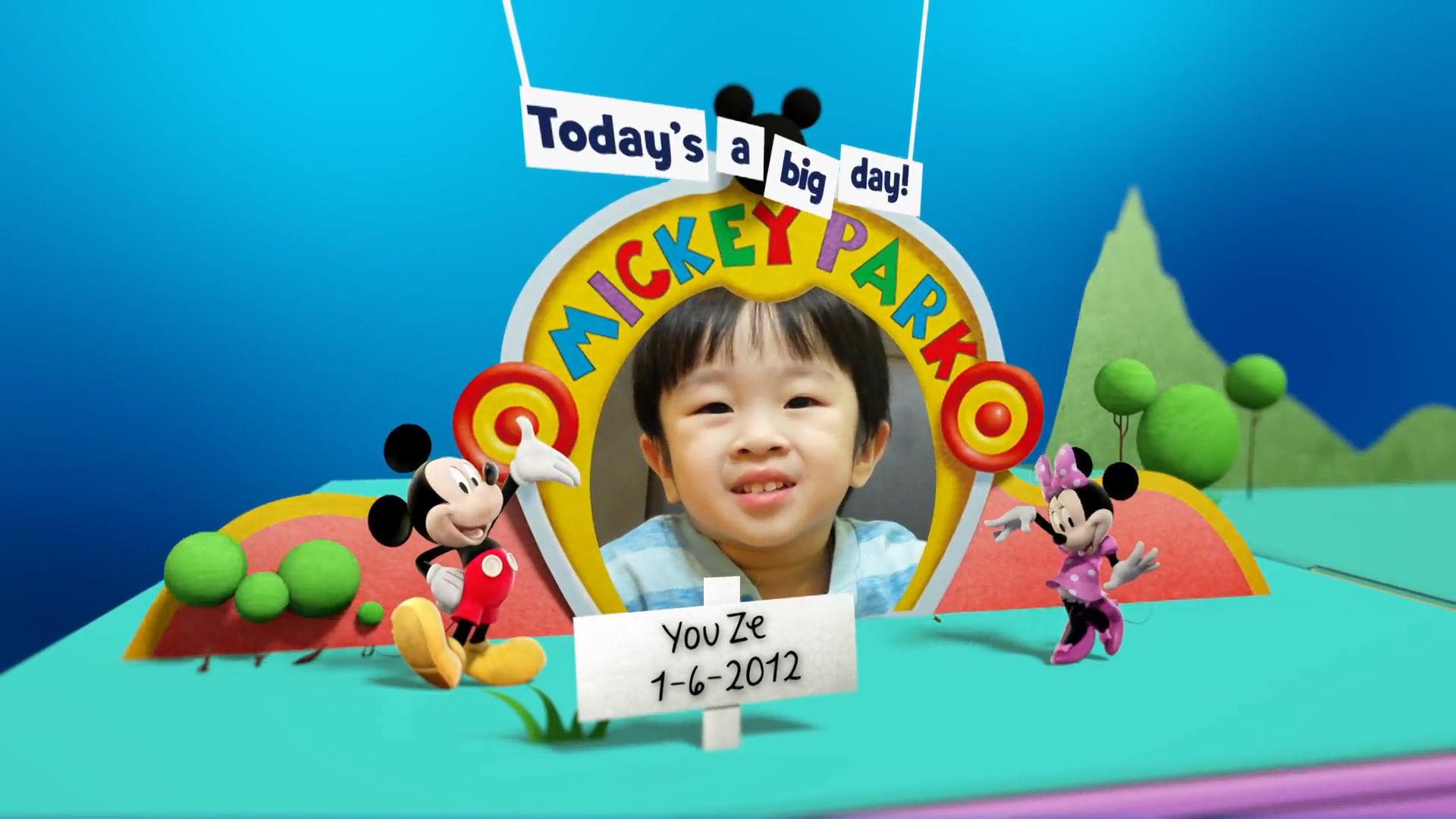 Disney Junior Birthday Book June 2016 Album 3