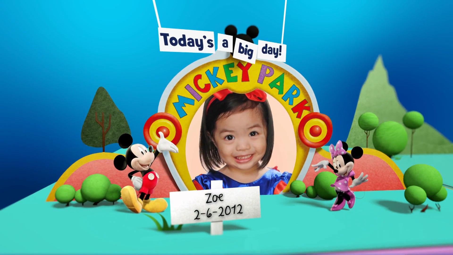 Disney Junior Birthday Book June 2016 Album 2