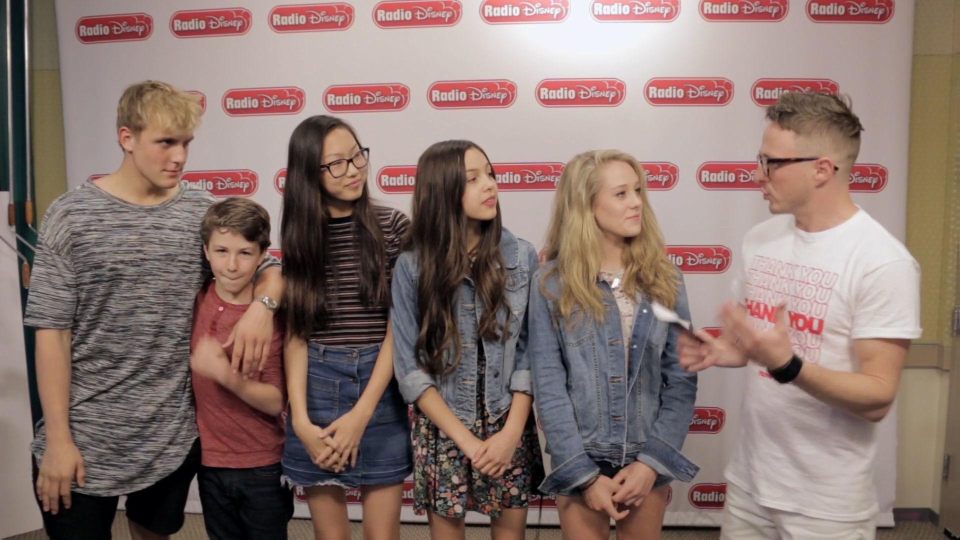 Bizaardvark Cast - Bizarre and Aardvark Trivia Challenge | Radio Disney