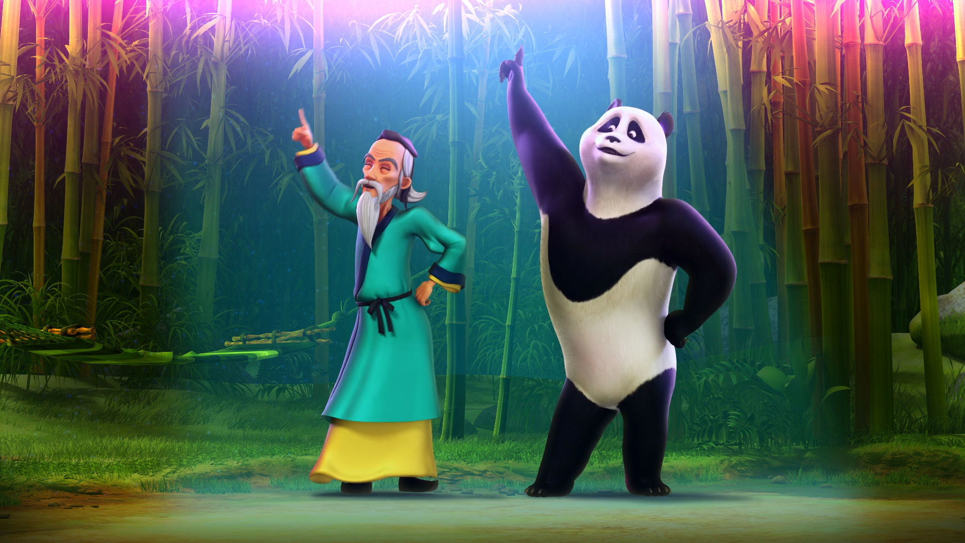 This Panda Just Wants to Dance