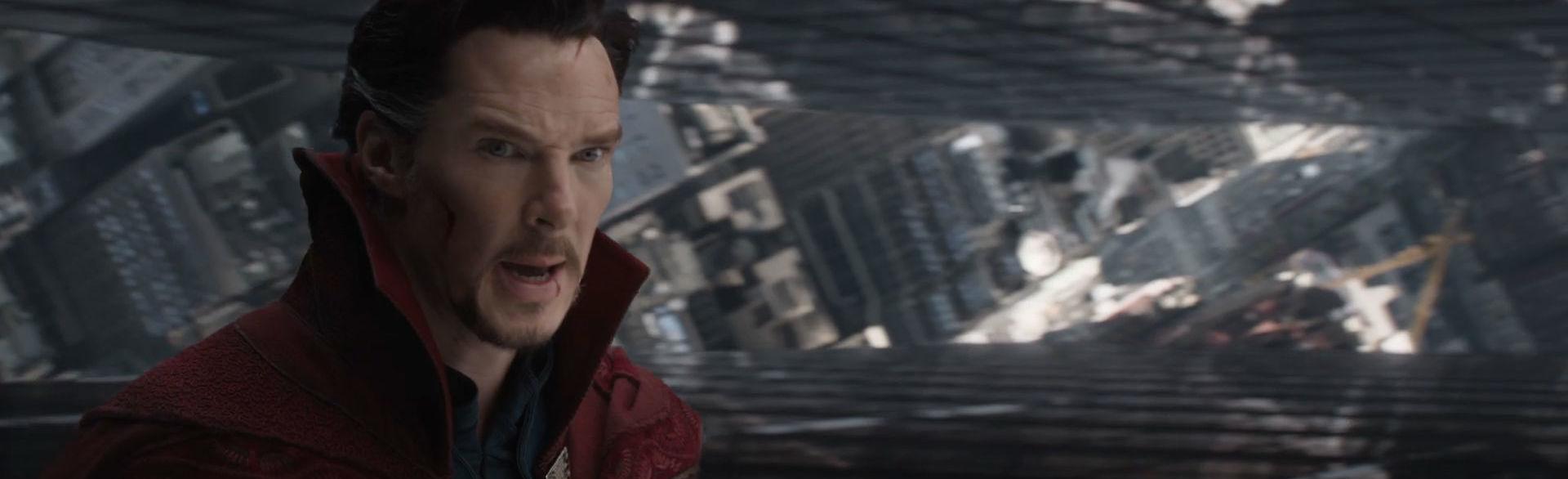 Doctor Strange ตัวอย่างที่ 2 อย่างเป็นทางการ