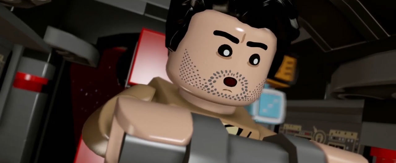 LEGO Star Wars: The Force Awakens Game Co-Op Vignette