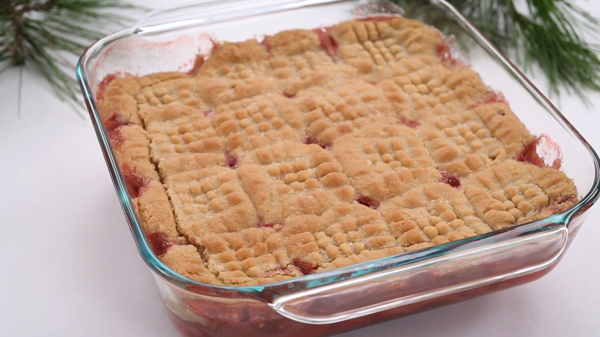 Pete's Dragon PB&J Cobbler | Dishes by Disney
