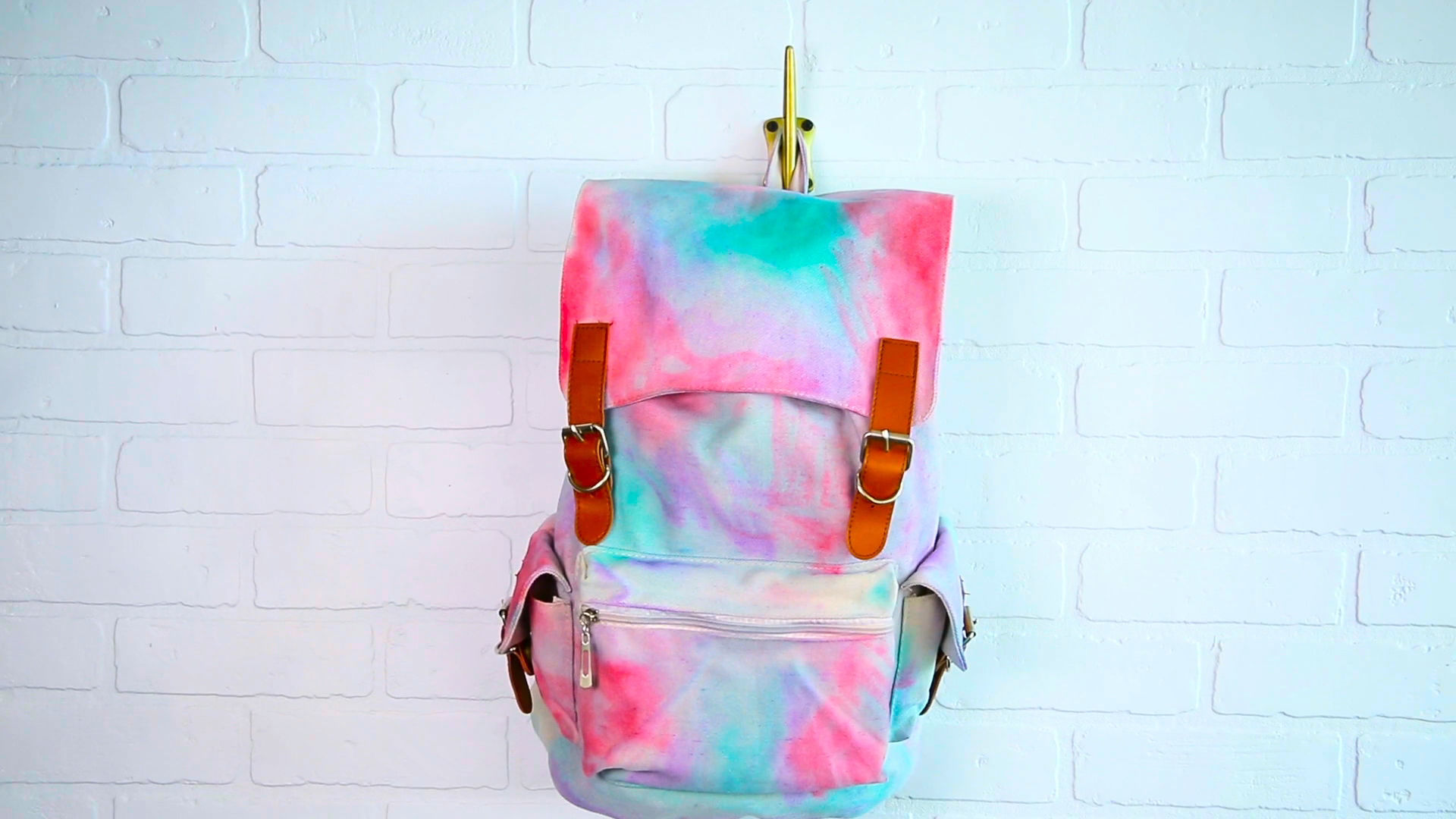 Watercolor Backpack | Summer Survival Hacks