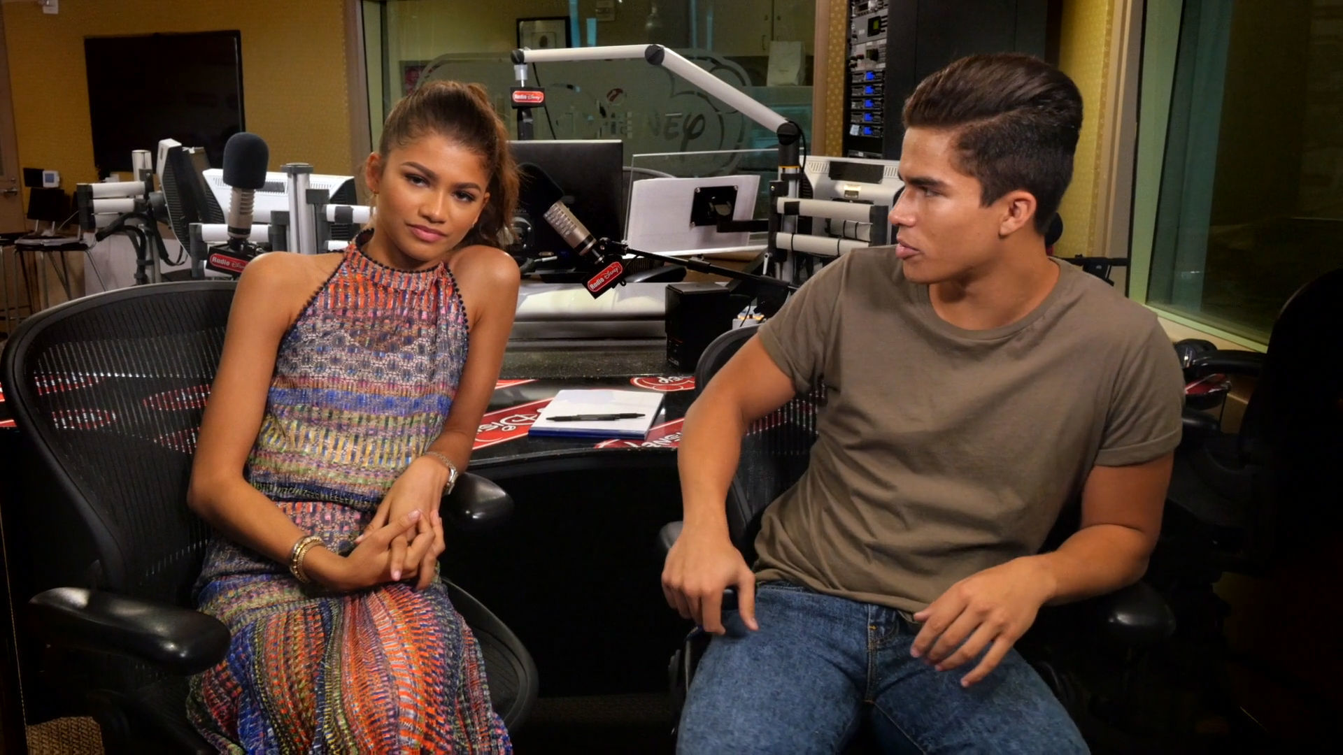 Zendaya with Alex Aiono | Radio Disney