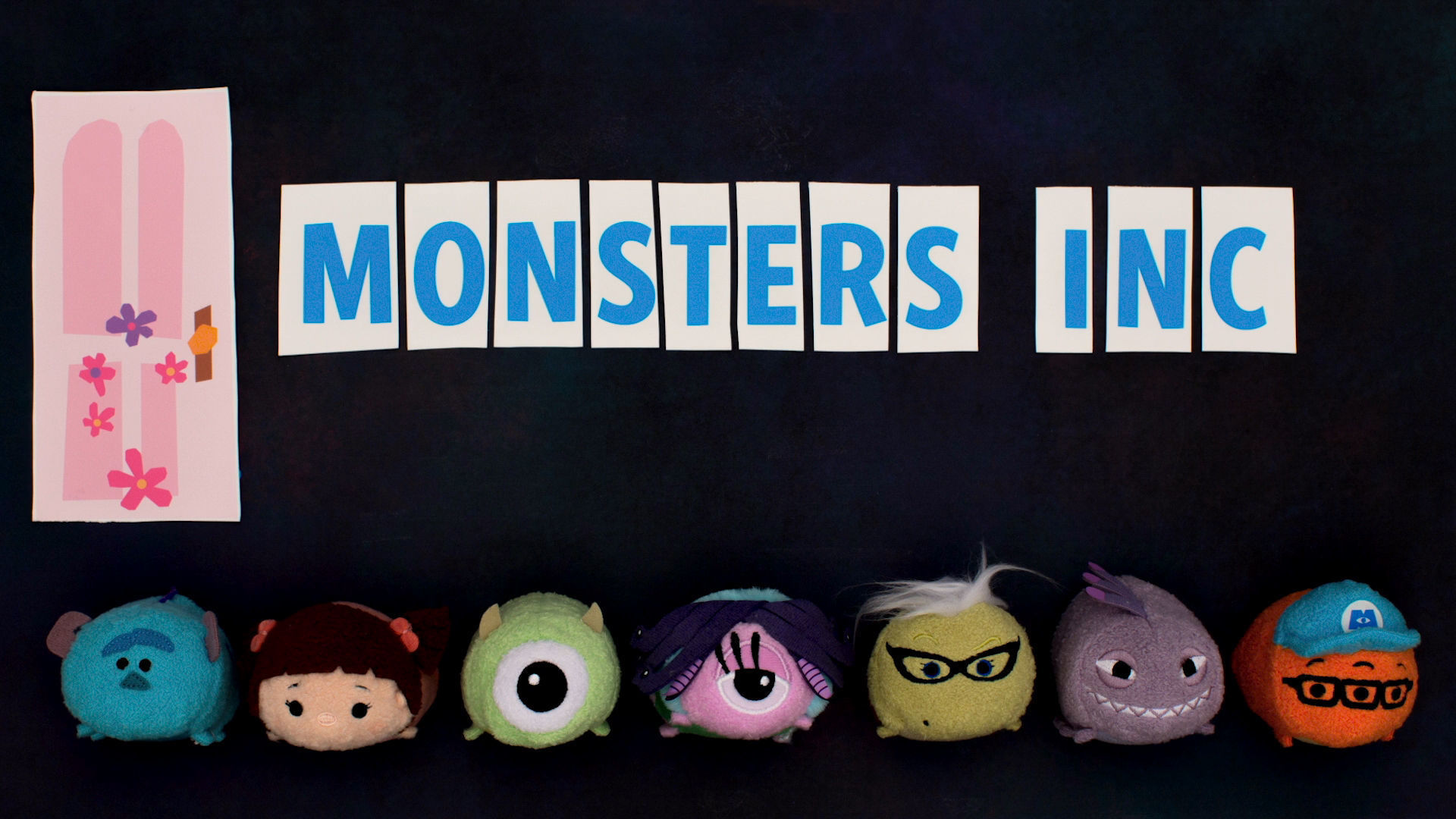 Monster's Inc. As Told By Tsum Tsum | Disney