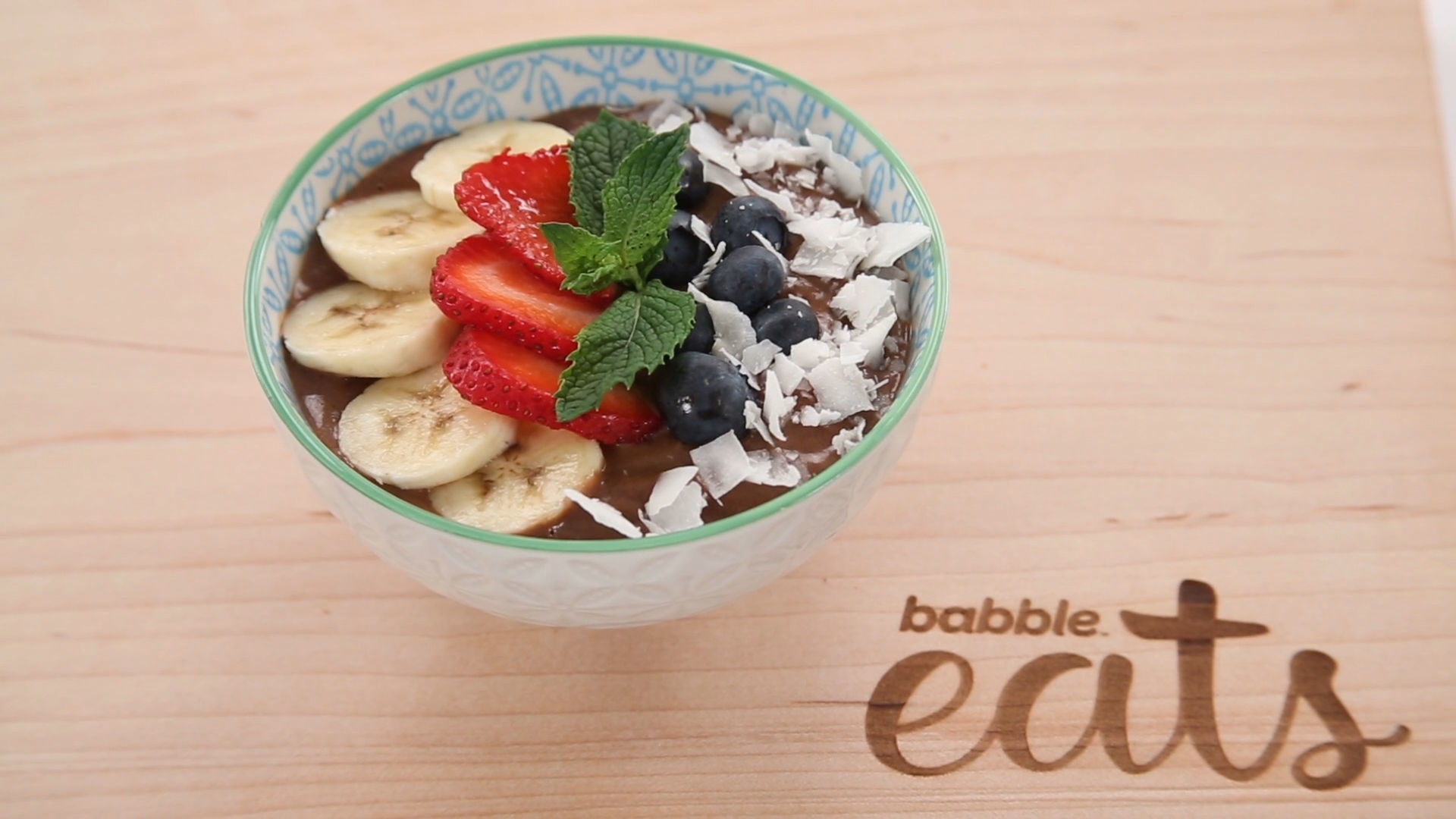 Avocado Chocolate Pudding | Babble Eats Light