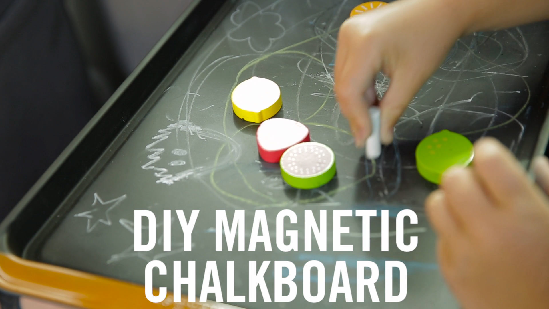 DIY Magnetic Chalkboard | Babble Hacks