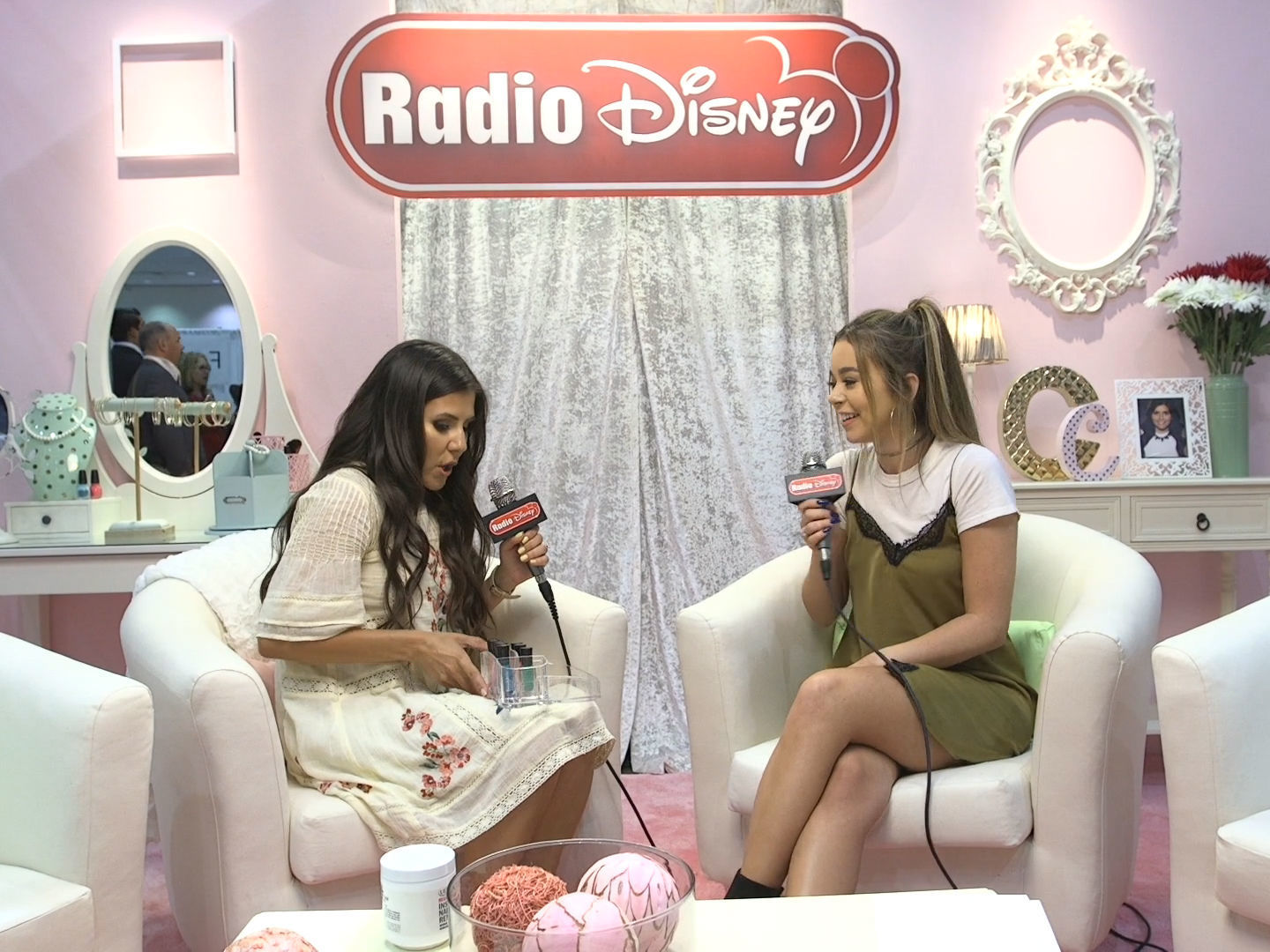 Nail Art with Sierra Furtado | BeautyCon  | Radio Disney