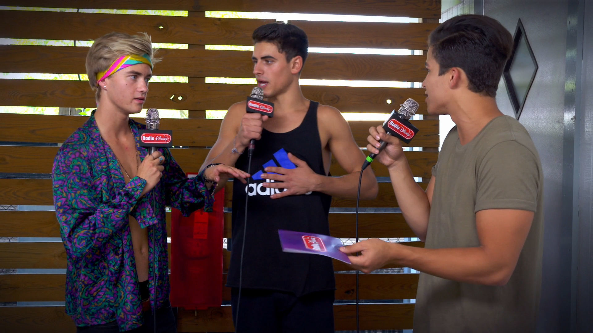 Alex Aiono vs. Jack and Jack | Radio Disney
