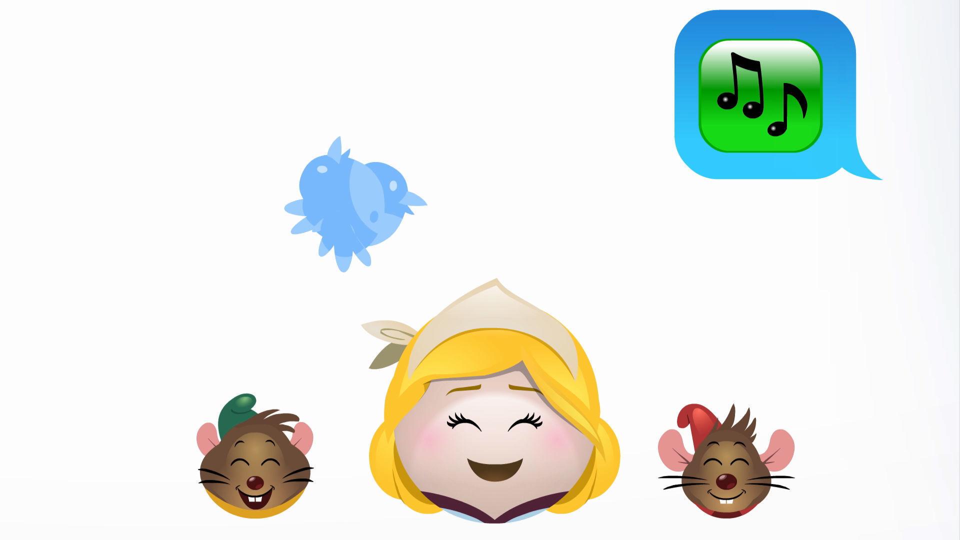 Cenicienta contada en emoji