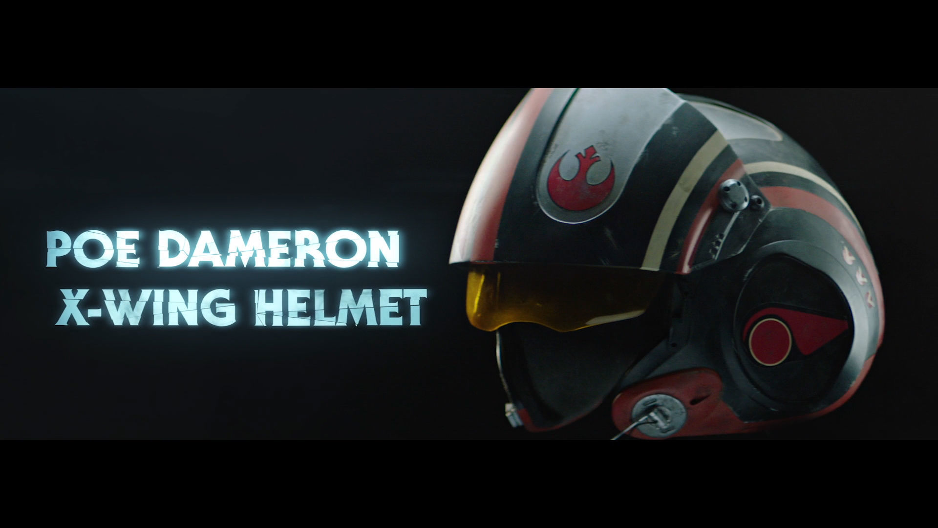 Poe Helmet | Star Wars Collectibles: Ultimate Studio Edition | Boxed