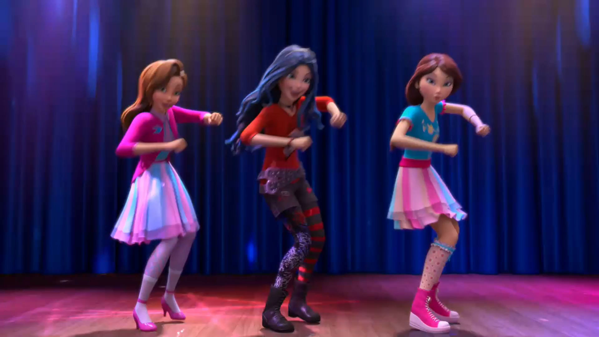 The Descendants Wicked World...Dance Moves