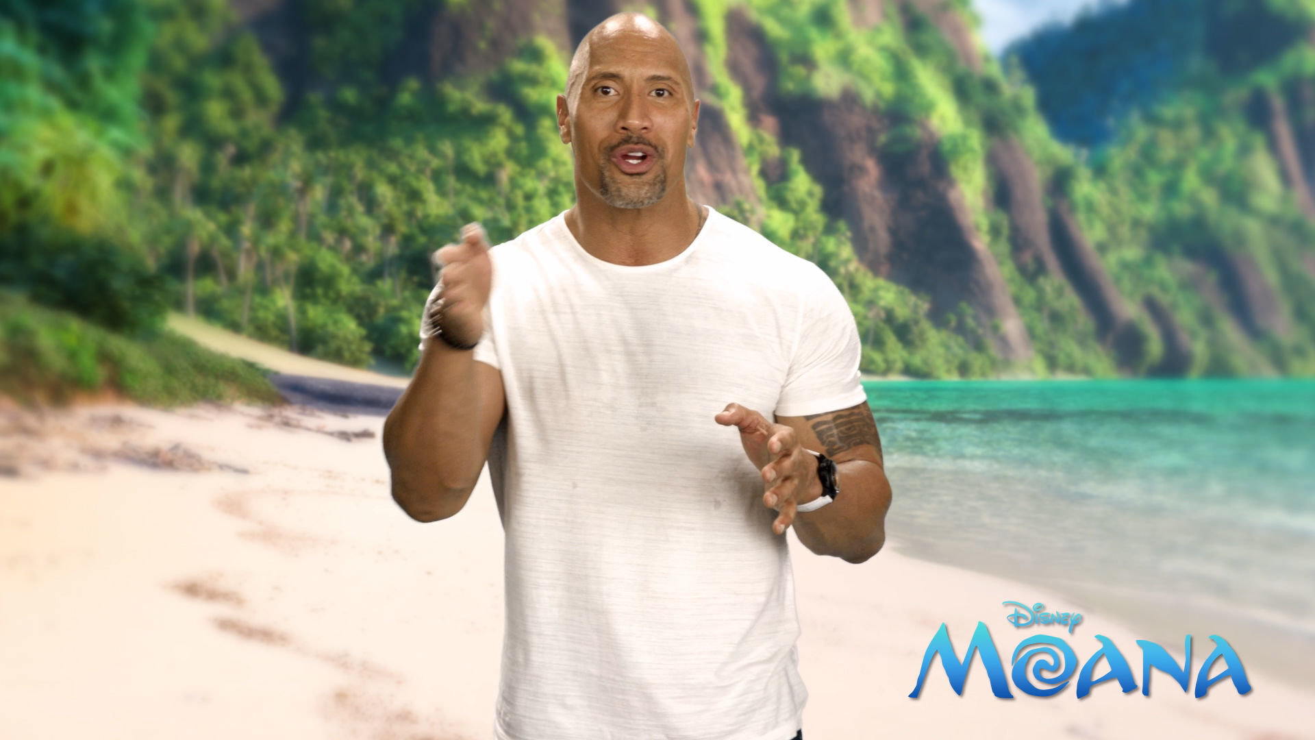 Disney Crossy Road | A Special Message From Dwayne Johnson