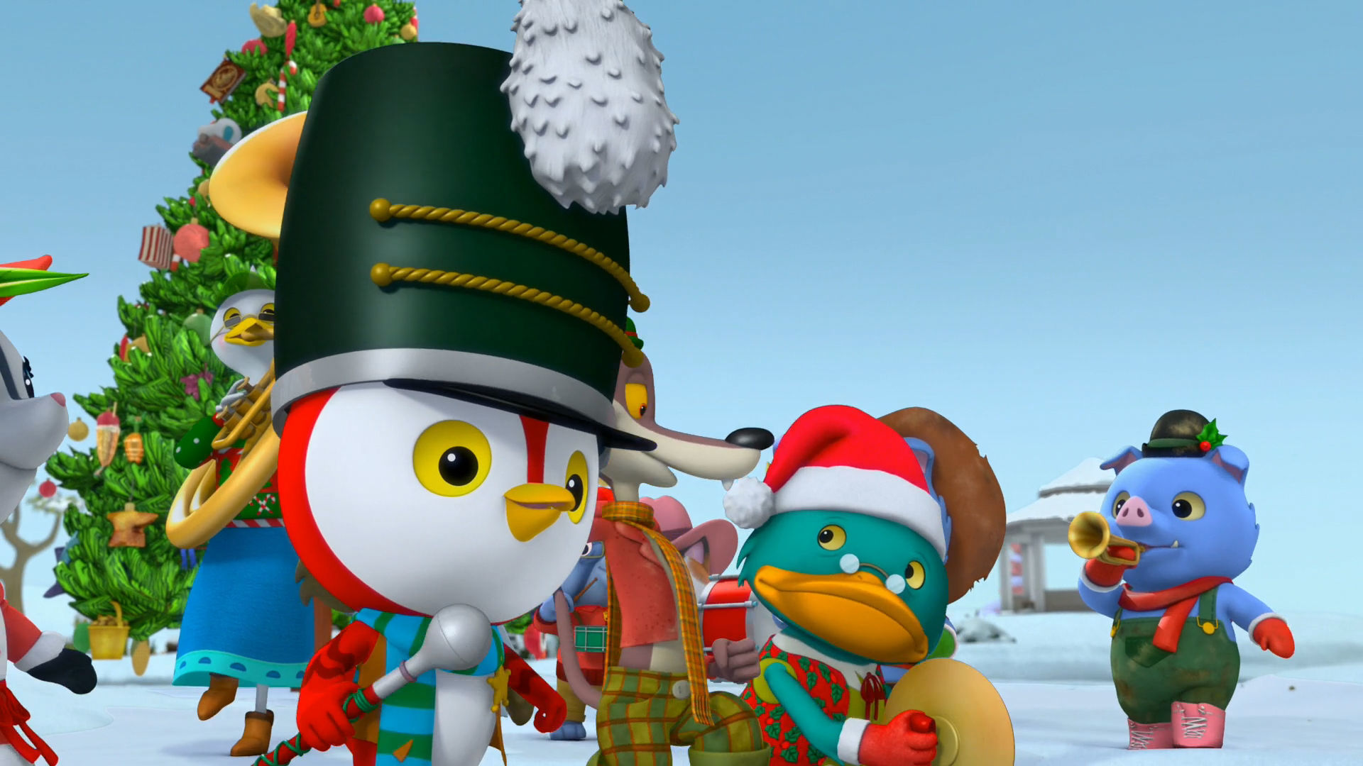 Music Video: Nice and Friendly Christmas March