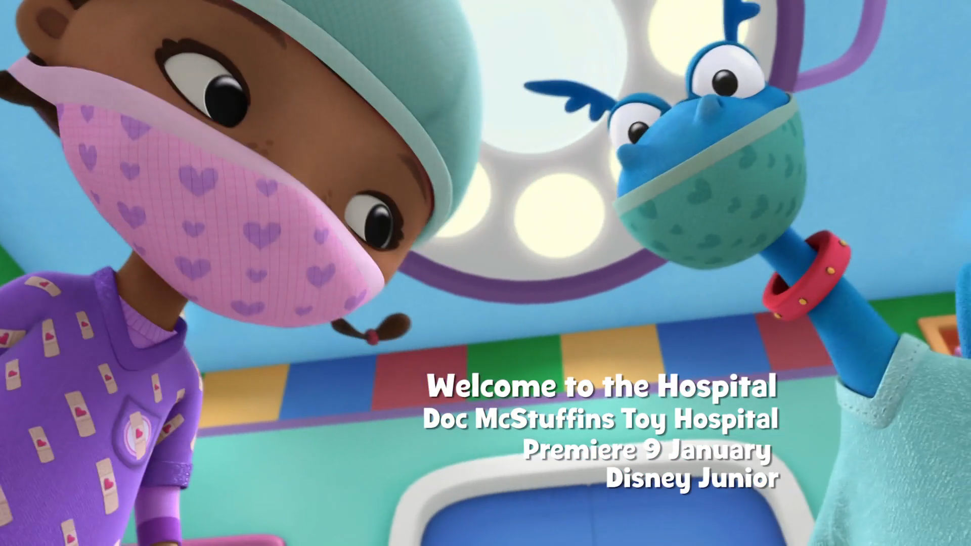 Doc McStuffins Toy Hospital - Welcome to the Hospital