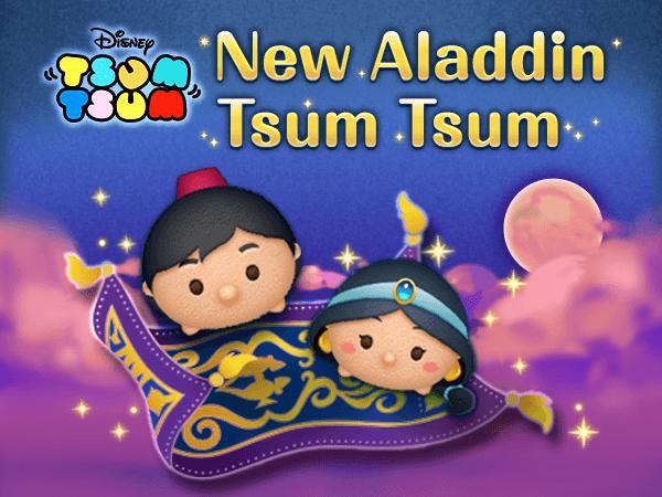 New Aladdin Tsum Tsum