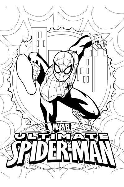 Colorea a Spider-Man 1