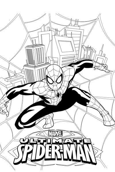 Colorea a Spider-Man 2