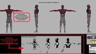 Darth Maul: Son of Dathomir Concept Art Gallery