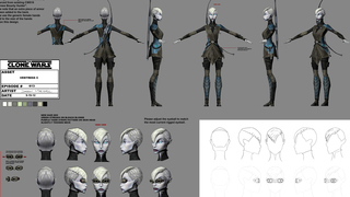 Dark Disciple Concept Art Gallery