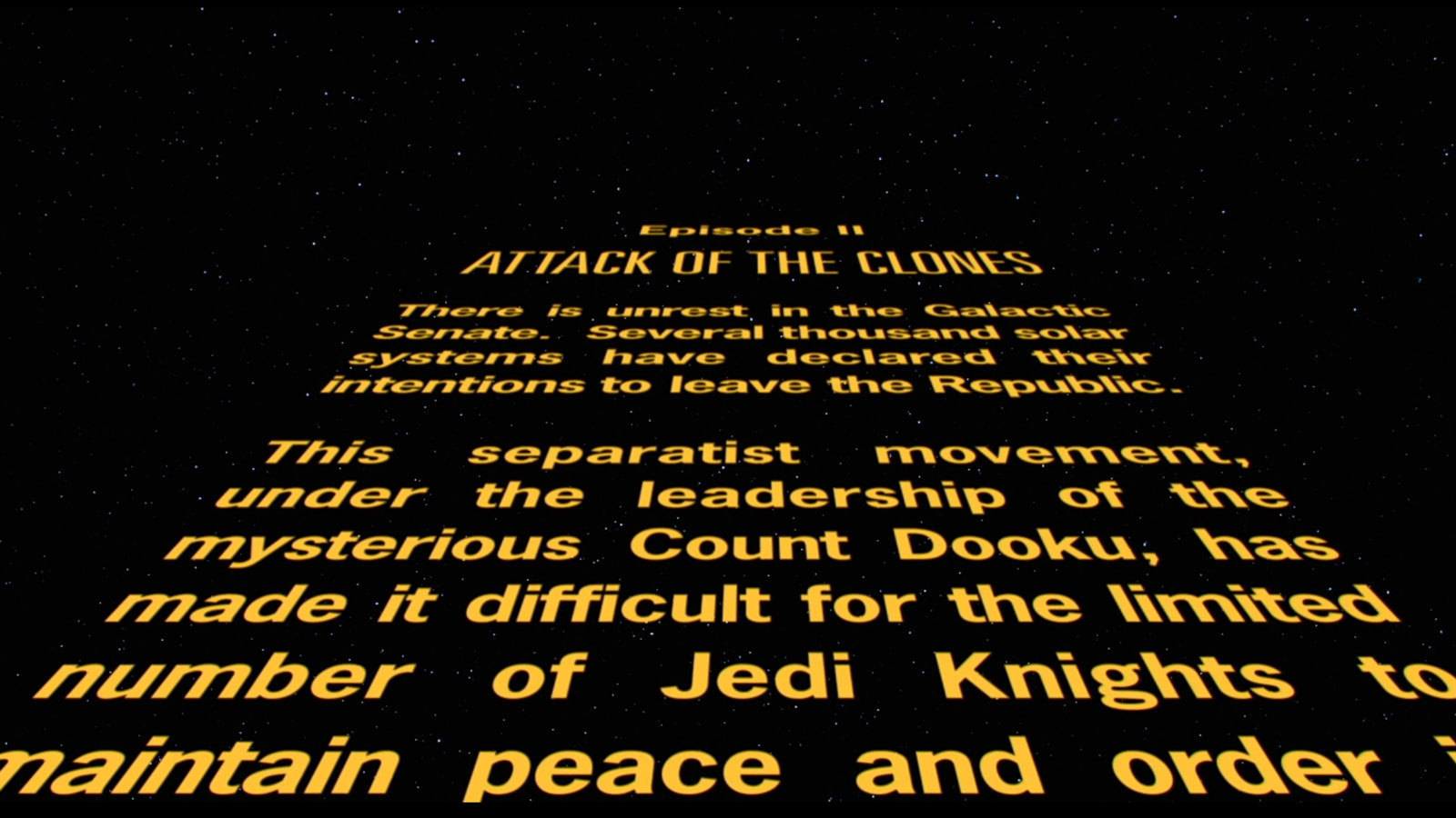 star wars opening crawl - photo #33