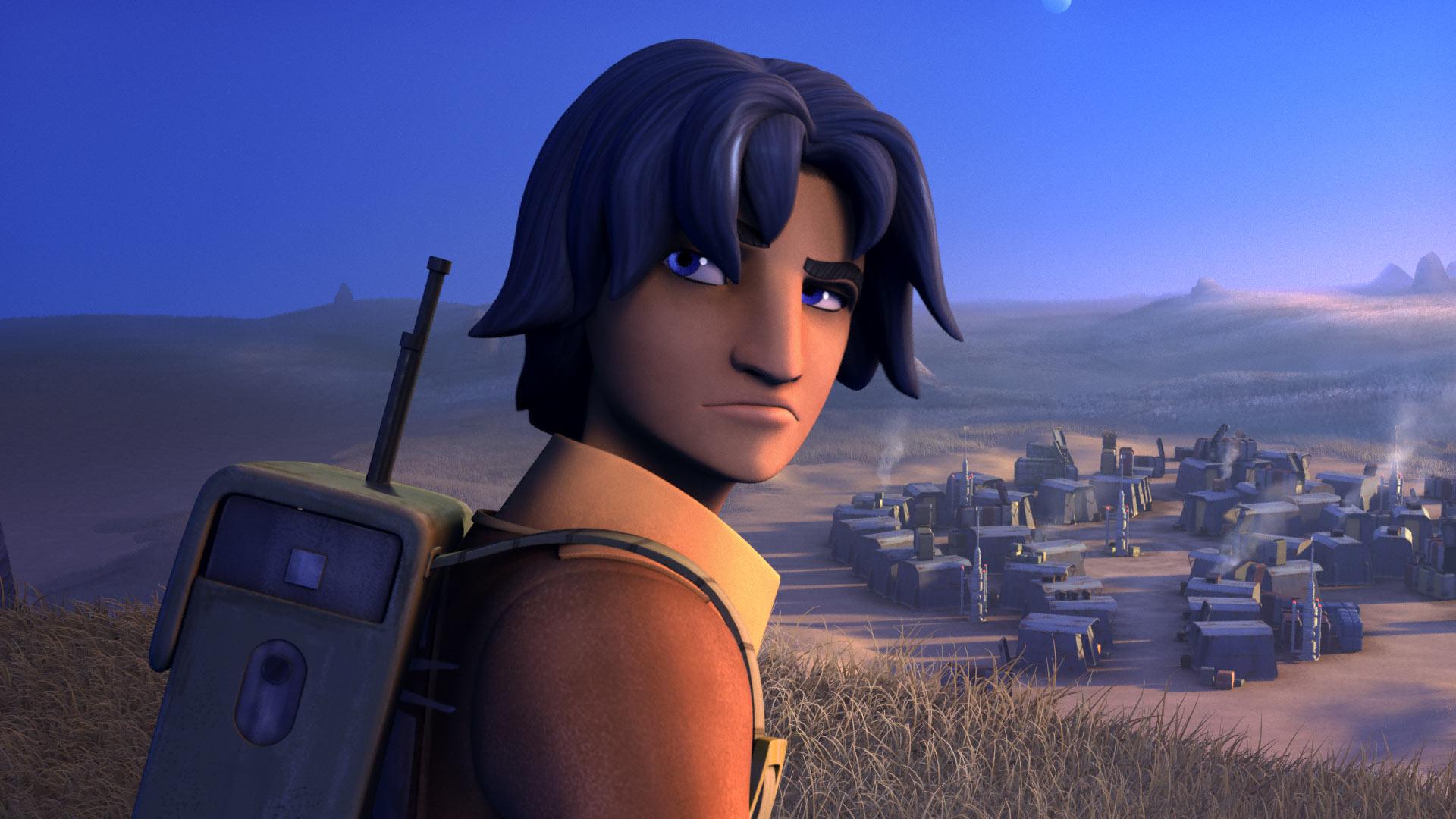 Details info of the Star Wars Rebels Ezra Bridger