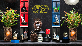 Disney Family's Star Wars Party