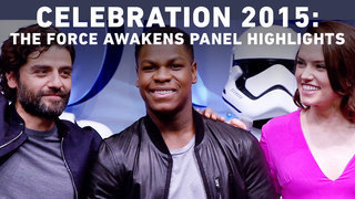 Star Wars Celebration 2015: The Force Awakens Panel Highlights