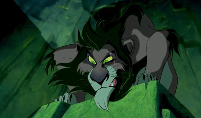 Scar (Der König der Löwen) (c)Walt Disney (via blogs.disney.com) (dramaturgia)