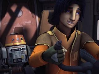 """Star Wars Rebels: """"A Joyride Rescue Mission"""""""